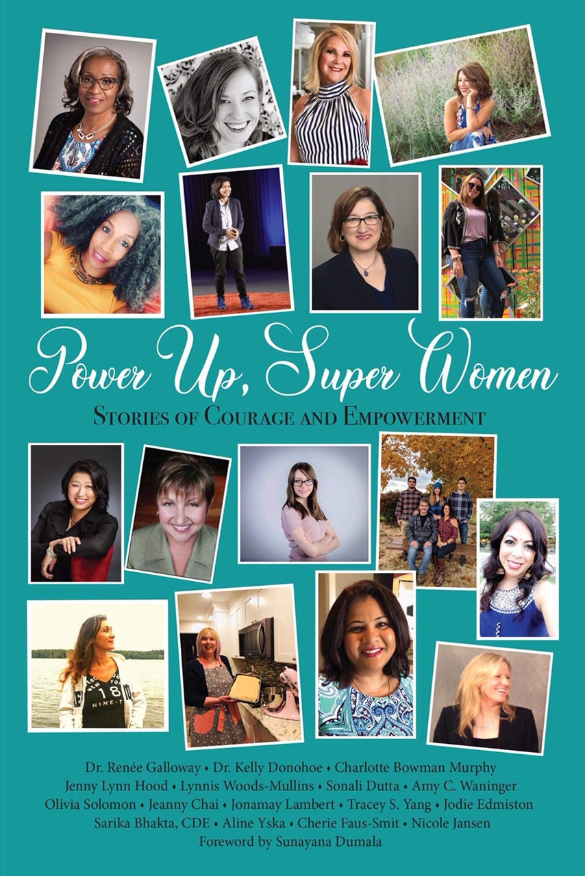 Power Up, Super Women: Stories of Courage and Empowerment Book Cover Image
